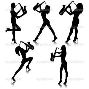 depositphotos_4092180-Girl-with-saxophone-silhouettes.Vector