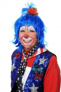 7794185-clown-dressed-in-red-white-and-blue-smiling