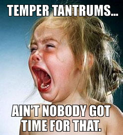 tempertantrums
