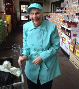 This is how Venita rocks Spring at the supermarket.